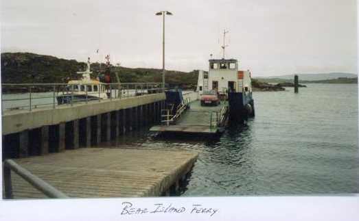 1e ferry naar bere island