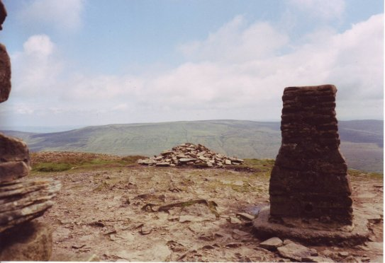Pen-y-Ghent triglepoint
