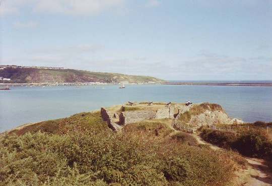 Old fort near Lower Town, Fishguard