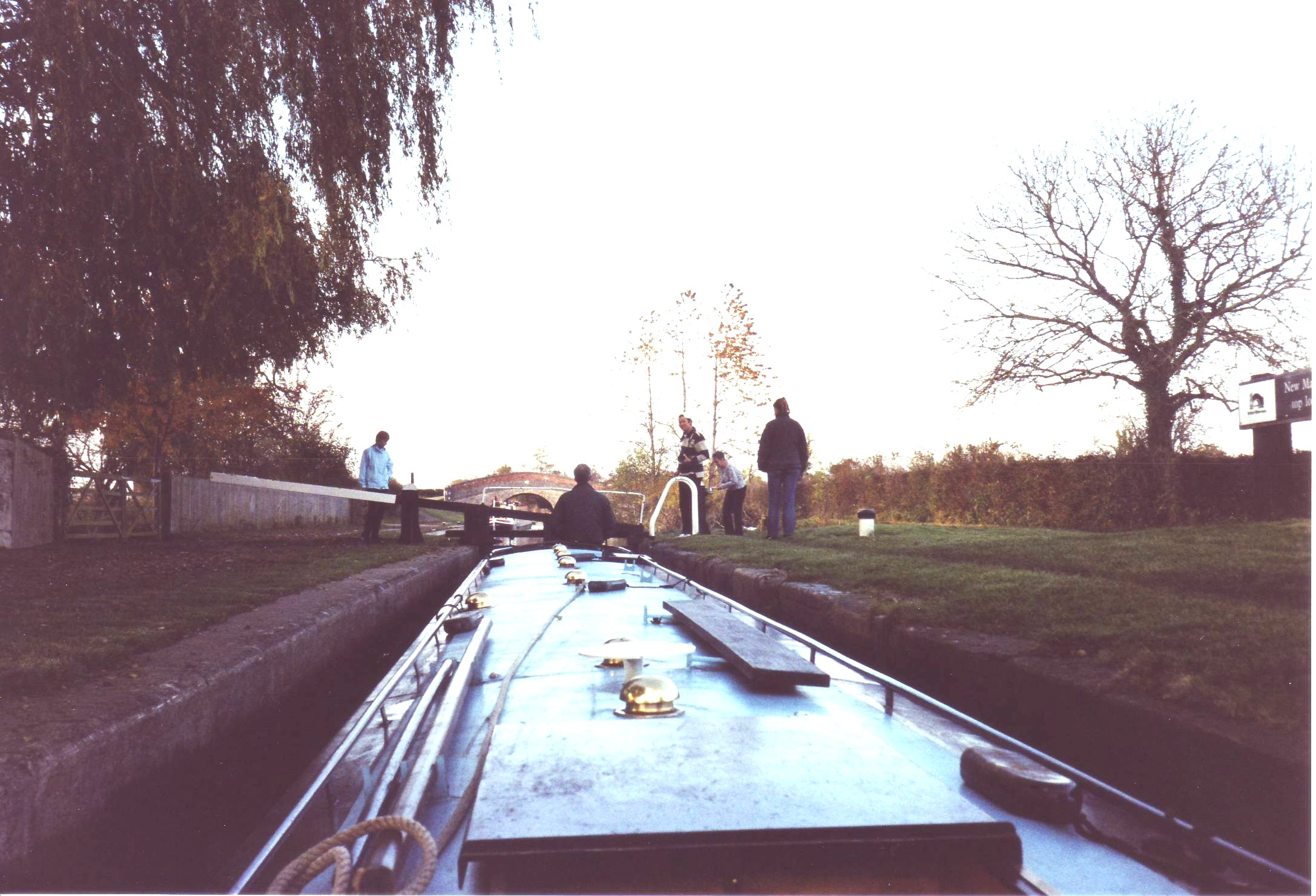 Narrowboat Ellesmere